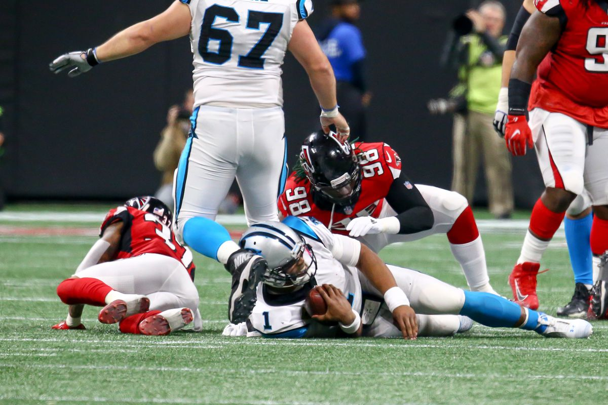 NFL: DEC 31 Panthers at Falcons