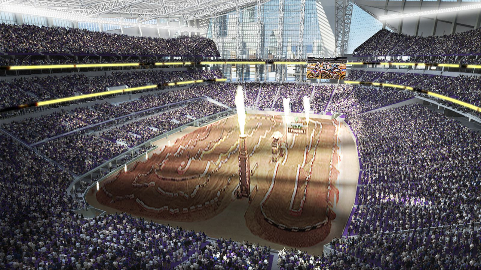 The New Vikings' Stadium Is Hot Like Fire - Daily Norseman