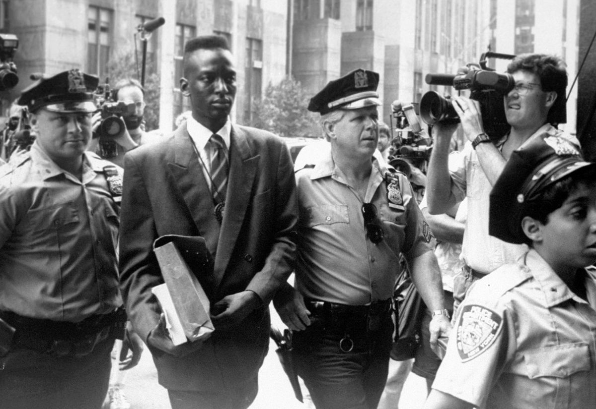 An image from The Central Park Five, the 2012 documentary co-directed by Ken Burns, Sarah Burns, and David McMahon.