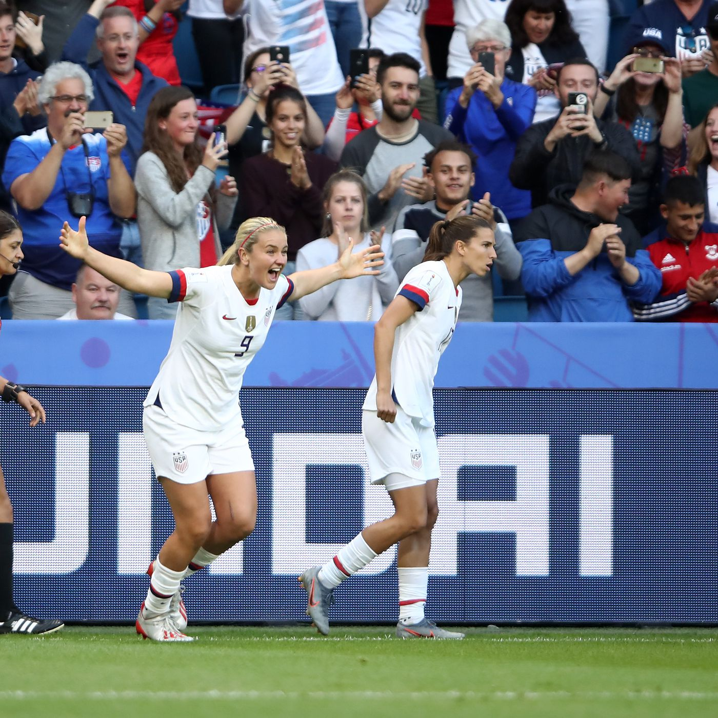 2 suggested changes for USWNT vs  France in the 2019 women's