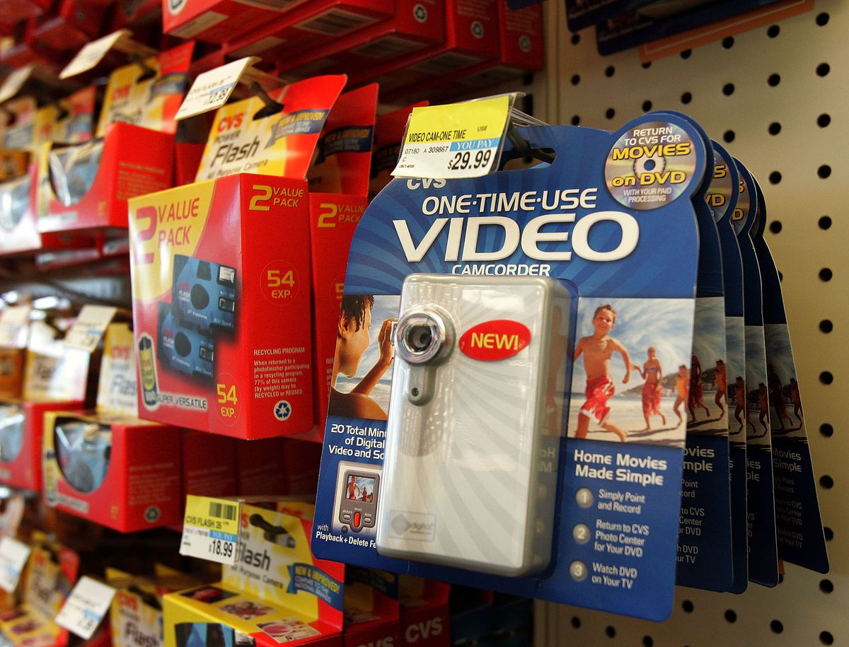 CVS Sells Disposable Camcorders