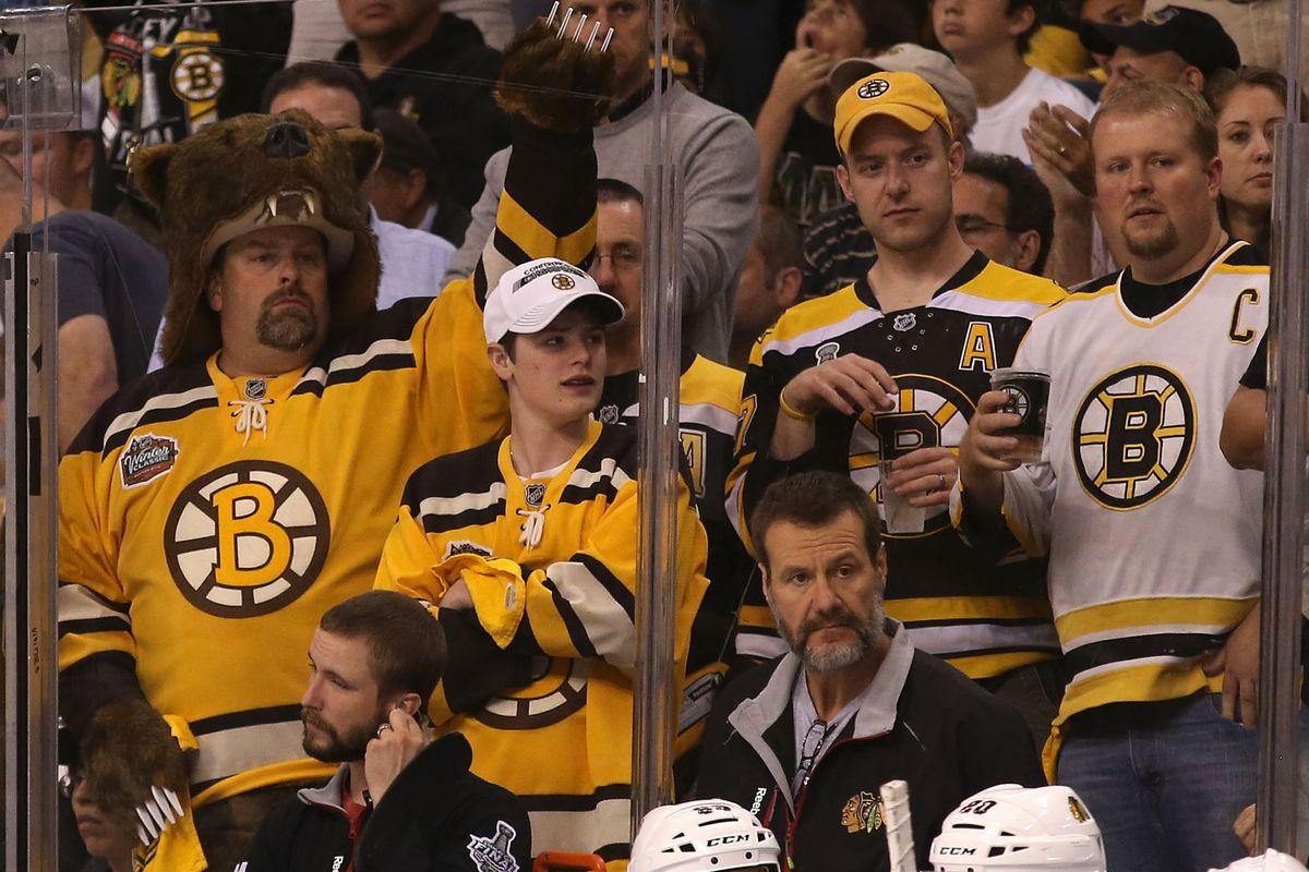 Is it Bruins hockey yet?