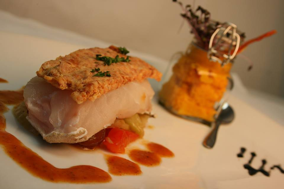 Dish from Le Margaux