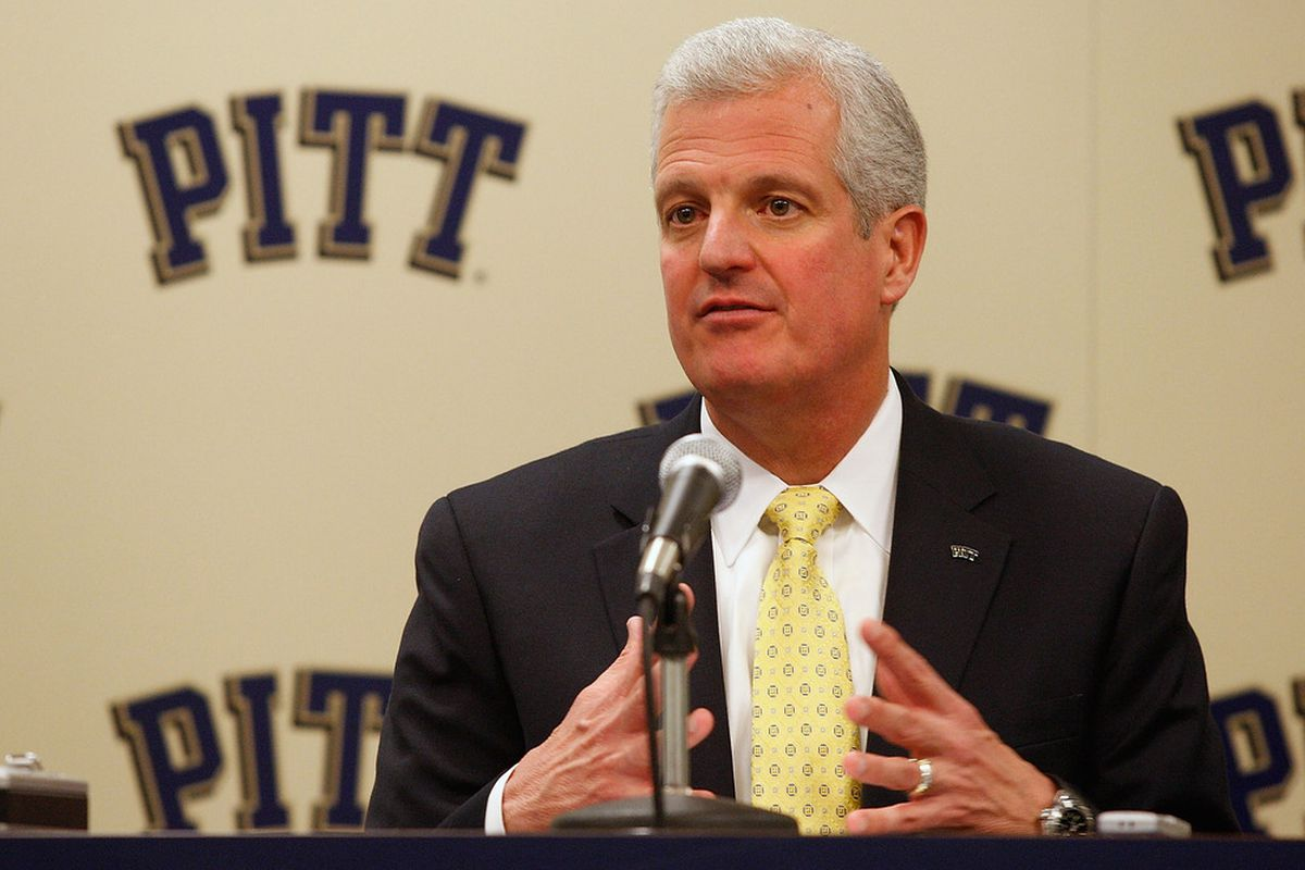 Steve Pederson issued a statement on Pitt's move to the ACC (Photo by Jared Wickerham/Getty Images)