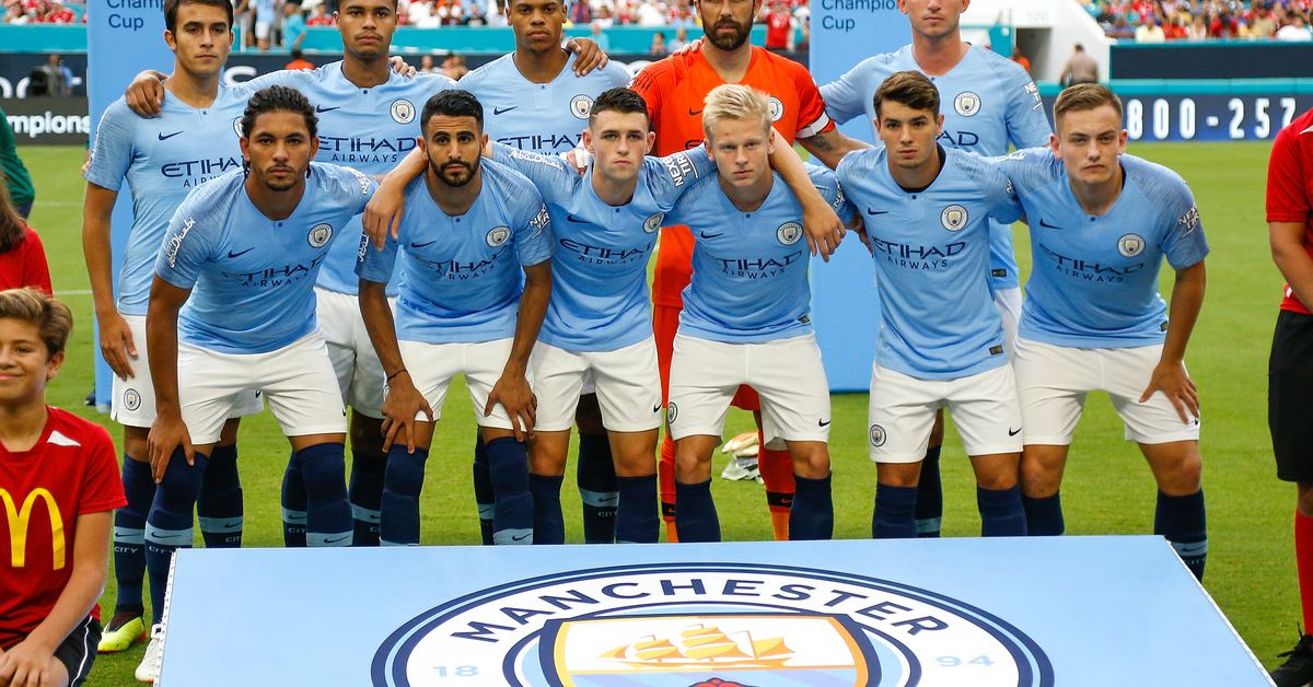 Manchester City Tour Roster