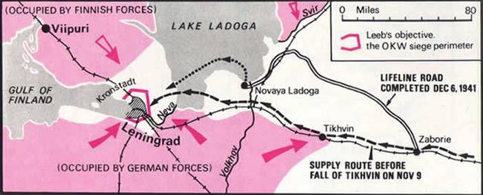 The Nazis begin a gruesome siege of Leningrad