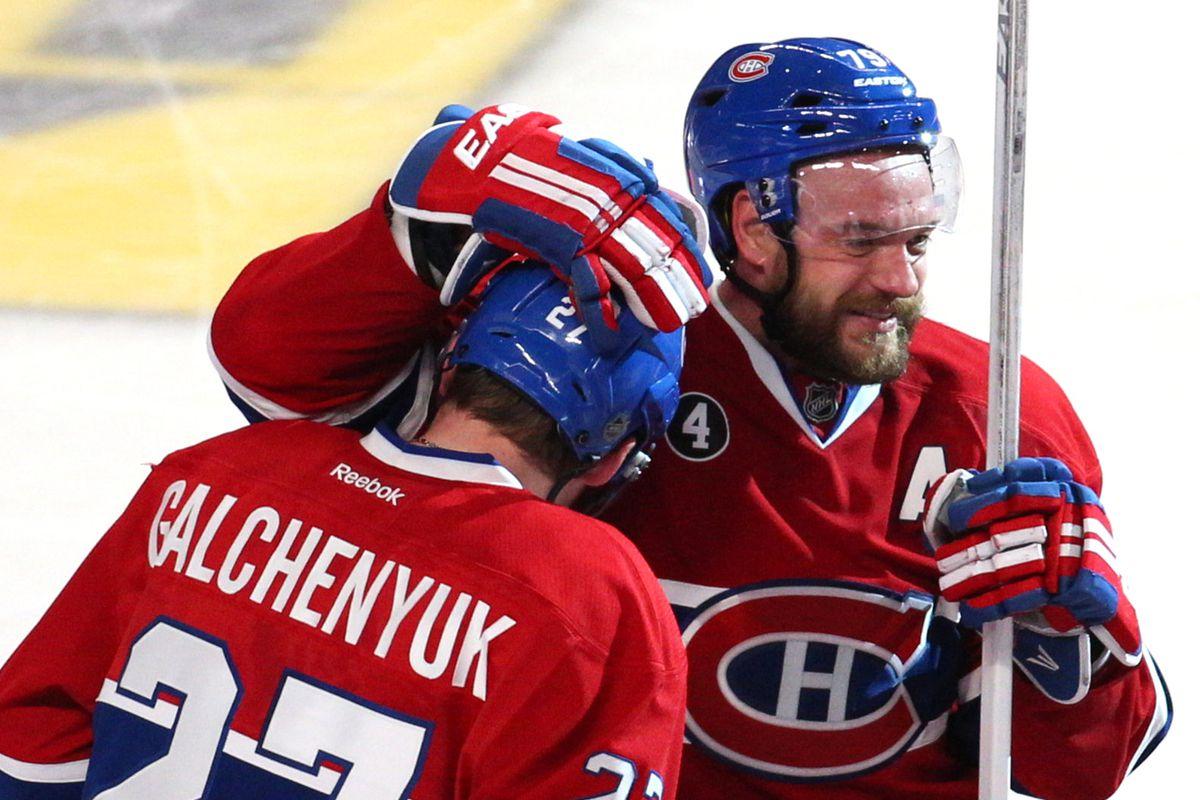 NHL: Stanley Cup Playoffs-Ottawa Senators at Montreal Canadiens
