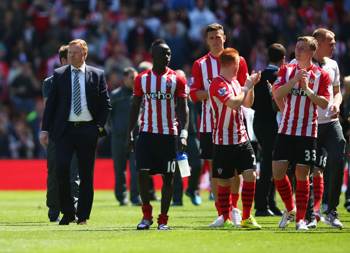 Under Ronald Koeman, Southampton improved on their league position from the season previous under Mauricio Pochettino.