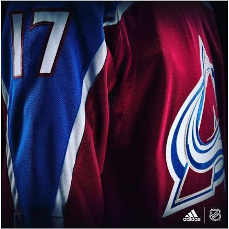 new styles f8f42 4ce16 Avalanche reveal new Adidas jerseys, old-school fans rejoice ...
