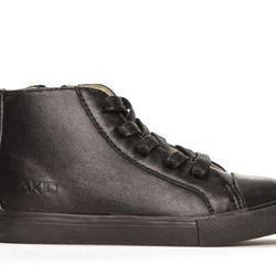 """Anthony sneaker in Black, <a href=""""http://shop.akidbrand.com/jzv/p/7/Anthony+Sneaker?p=YzE9OA=="""">$65</a>"""
