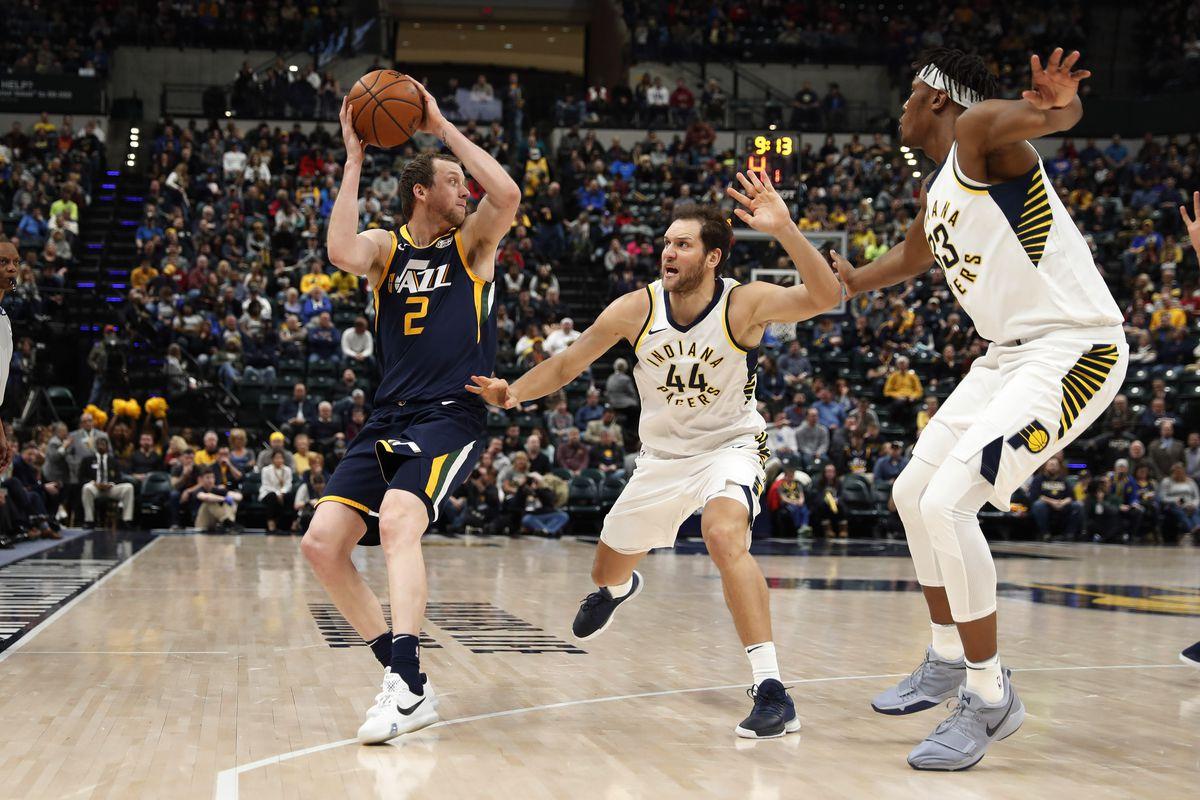 NBA: Utah Jazz at Indiana Pacers