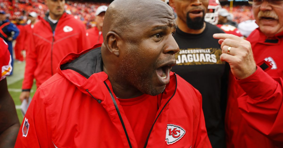 Chiefs offensive coordinator Eric Bieniemy appeared on NFL Network this morning