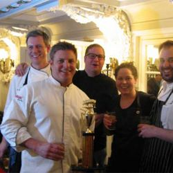 The five chefs