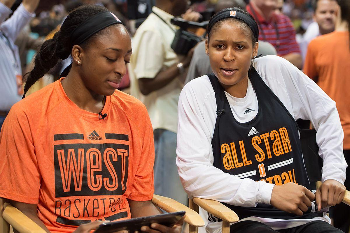 WNBA All Star, Maya Moore