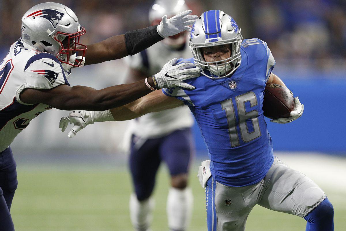 NFL: New England Patriots at Detroit Lions