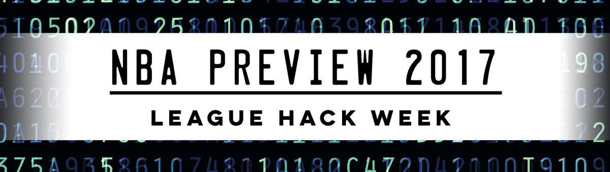 NBA Preview 2017 League Hack Week