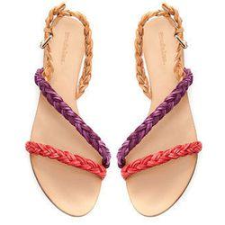 "<a href=""http://www.zara.com/webapp/wcs/stores/servlet/product/us/en/zara-nam-S2013/358035/1088564/BRAIDED+FLAT+SANDALS"">Zara</a> <b>braided flat</b> sandals, $35.90"