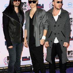 2010: At the MTV Europe Awards. Are those drop crotch?