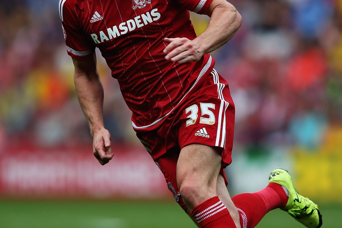 David Nugent opened the scoring as Middlesbrough moved to within one point of leaders Brighton yesterday