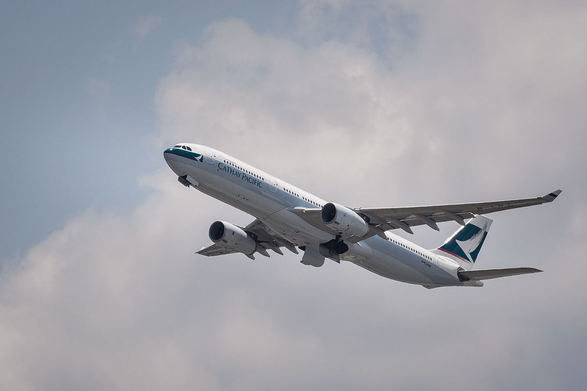 Cathay Pacific Travel Amenities Clients First Transportation Collectables