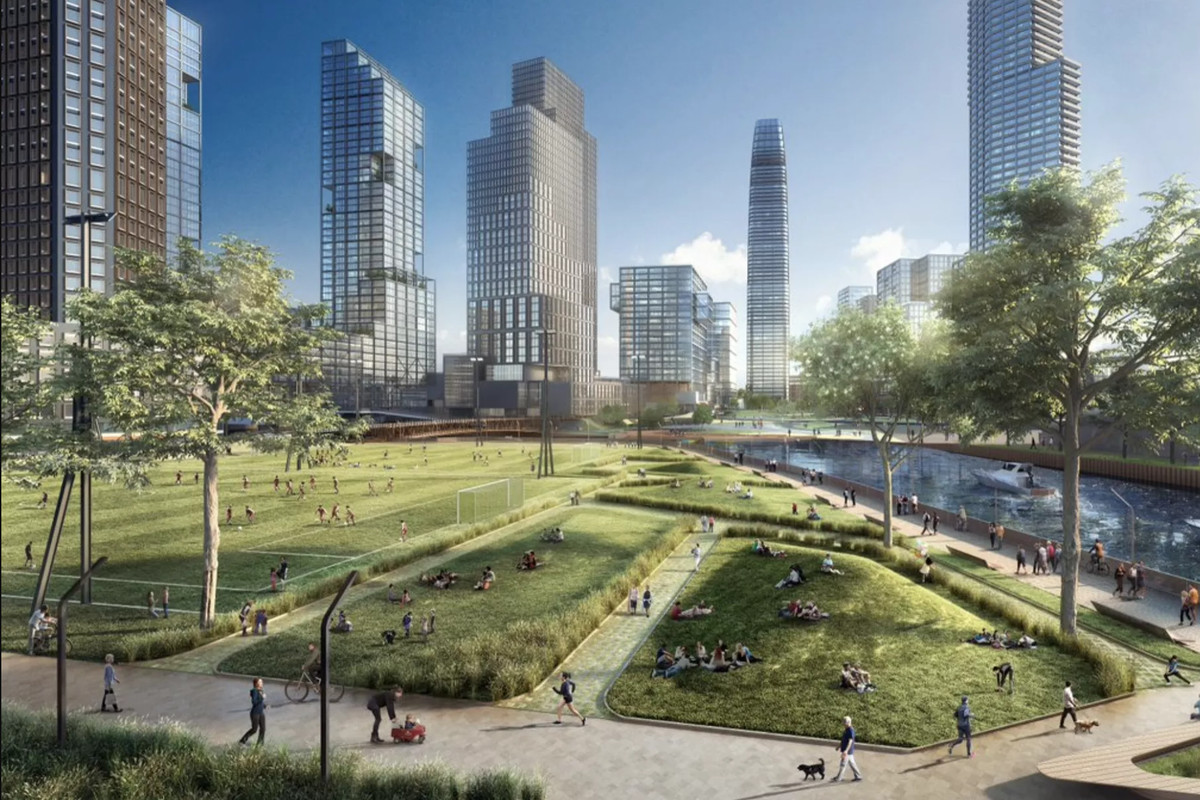 Lincoln Yards Plan Ditches Stadium For More Parks Roads