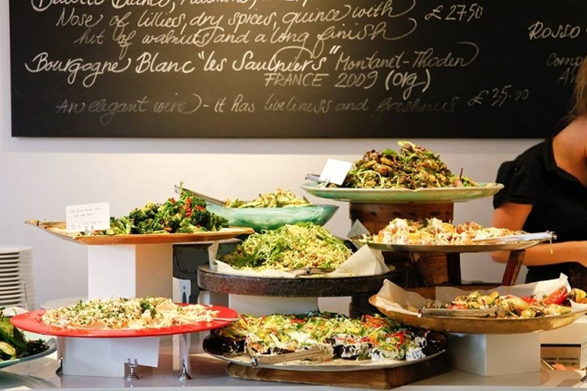 An Ottolenghi deli in London, reopening in Notting Hill and Islington