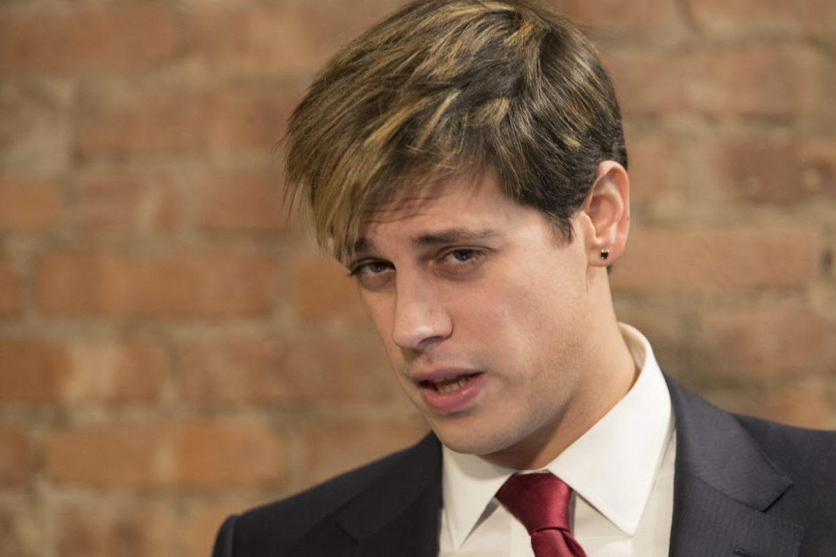 Milo Yiannopoulos apologizes for remarks, quits Breitbart