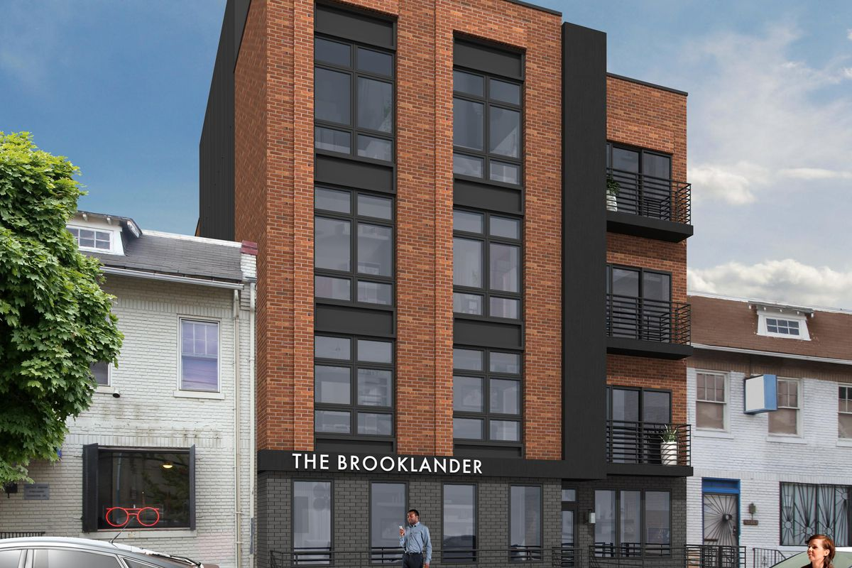 11 unit pop up planned in brookland curbed dc