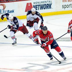 Grabovski Through Center Ice