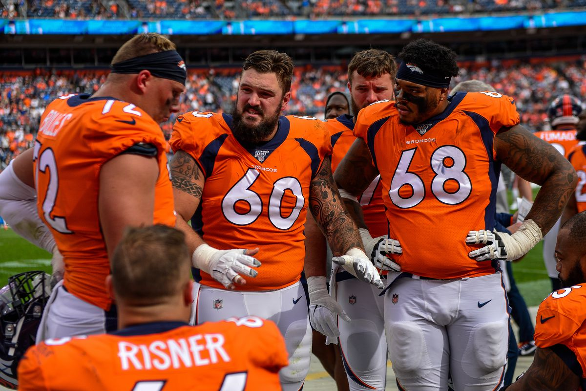Garett Bolles not likely to get benched, Fangio says
