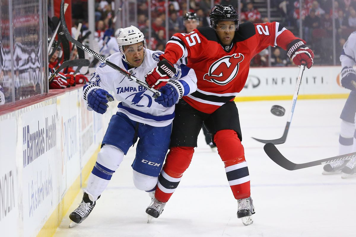Devils play Tampa--a stout defensive team--3 times in the first 10 games.