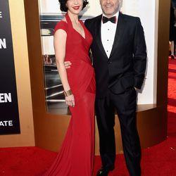 Mad Men creator Matthew Weiner and Linda Brettler.