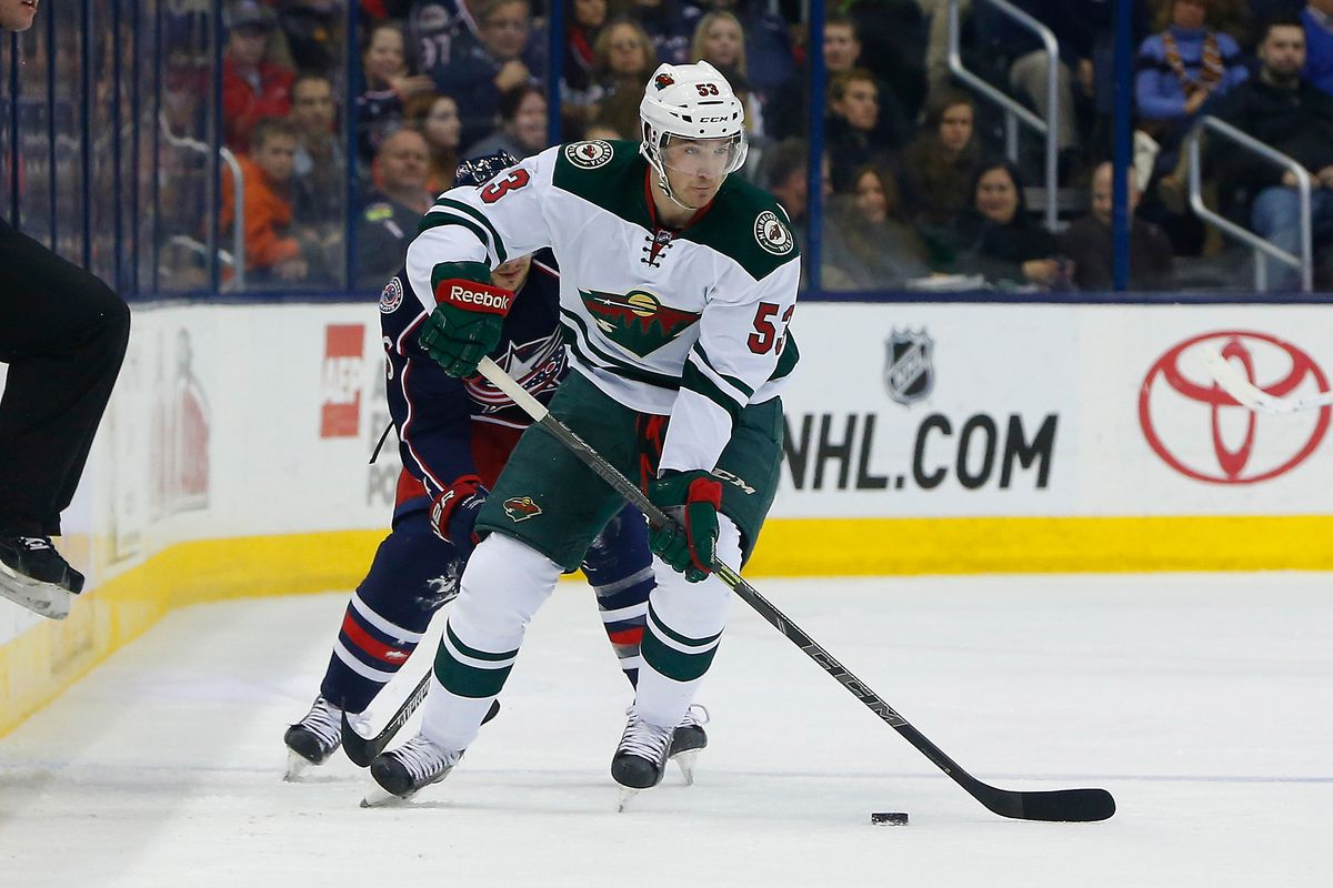 Tyler Graovac is looking to force his way onto the Minnesota Wild.