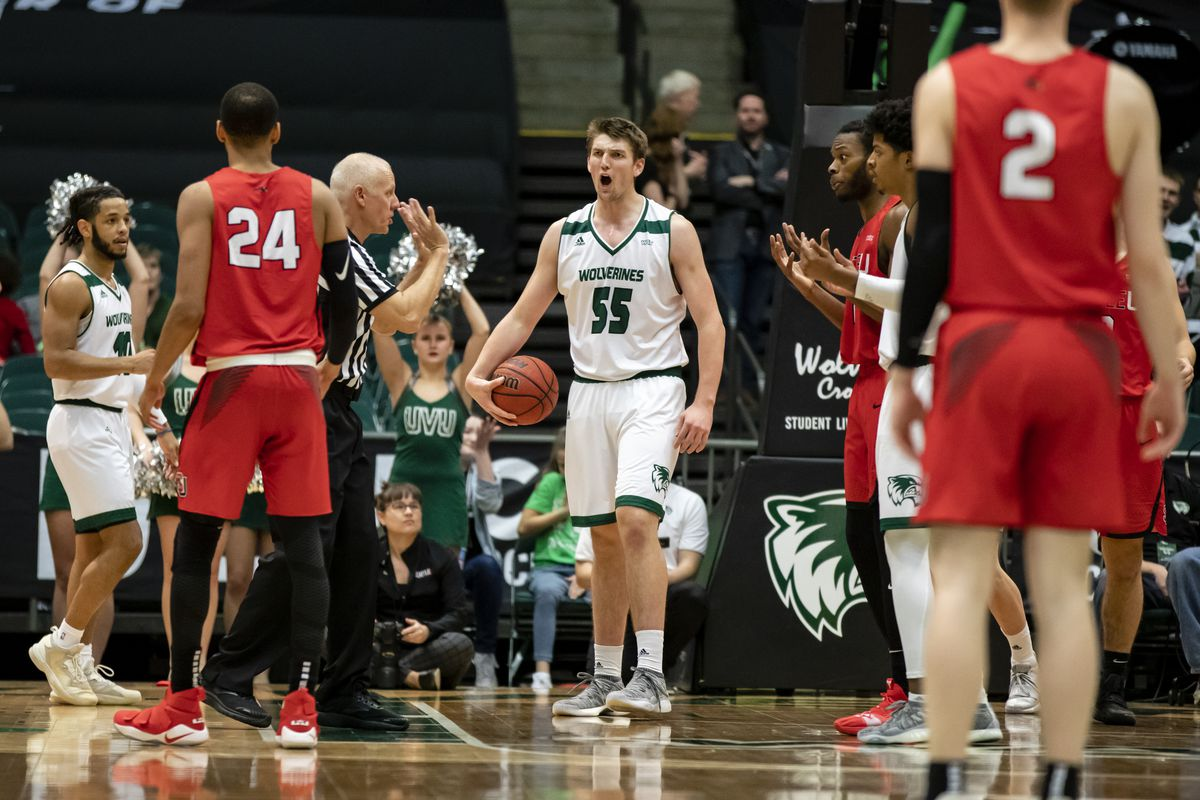 big sale 5b0c4 069c2 UVU basketball: Utah Valley overcomes 20-point deficit to ...