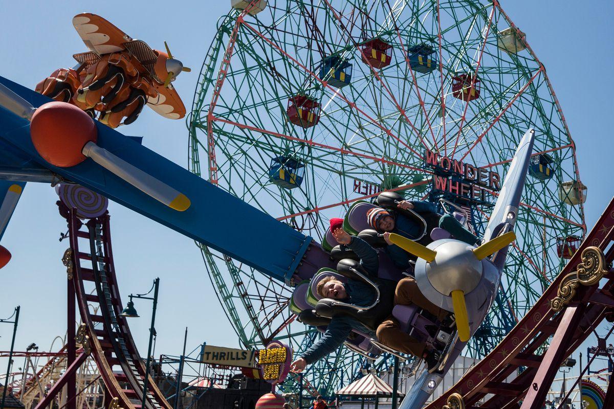 Coney Island's Luna Park Opens For The Season