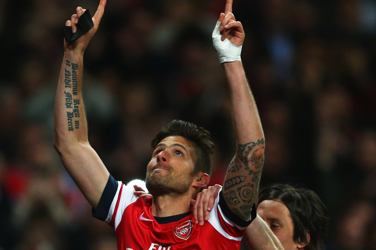 Giroud scores! (Was there any doubt?)