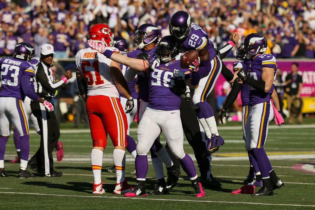NFL: OCT 18 Chiefs at Vikings