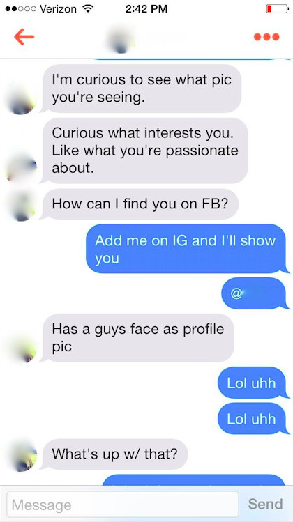 A brilliant Tinder hack made hundreds of bros unwittingly flirt with