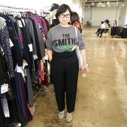 Stylist Shirley Kurata.