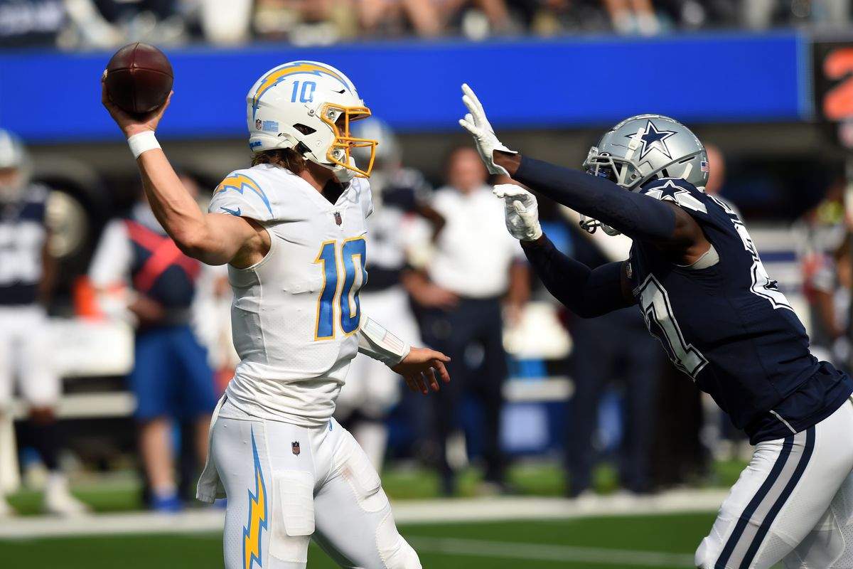 NFL: SEP 19 Cowboys at Chargers