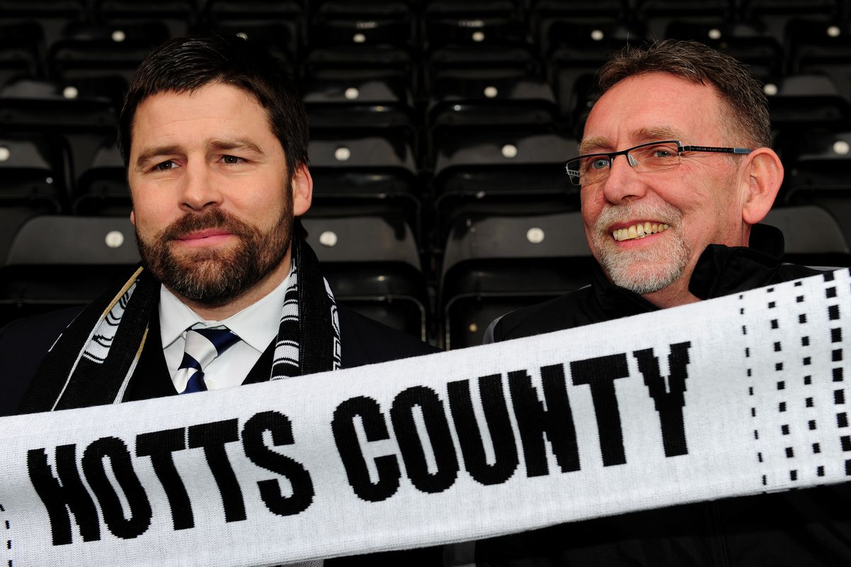 Soccer - Notts County Press Conference - Ray Trew - Meadow Lane