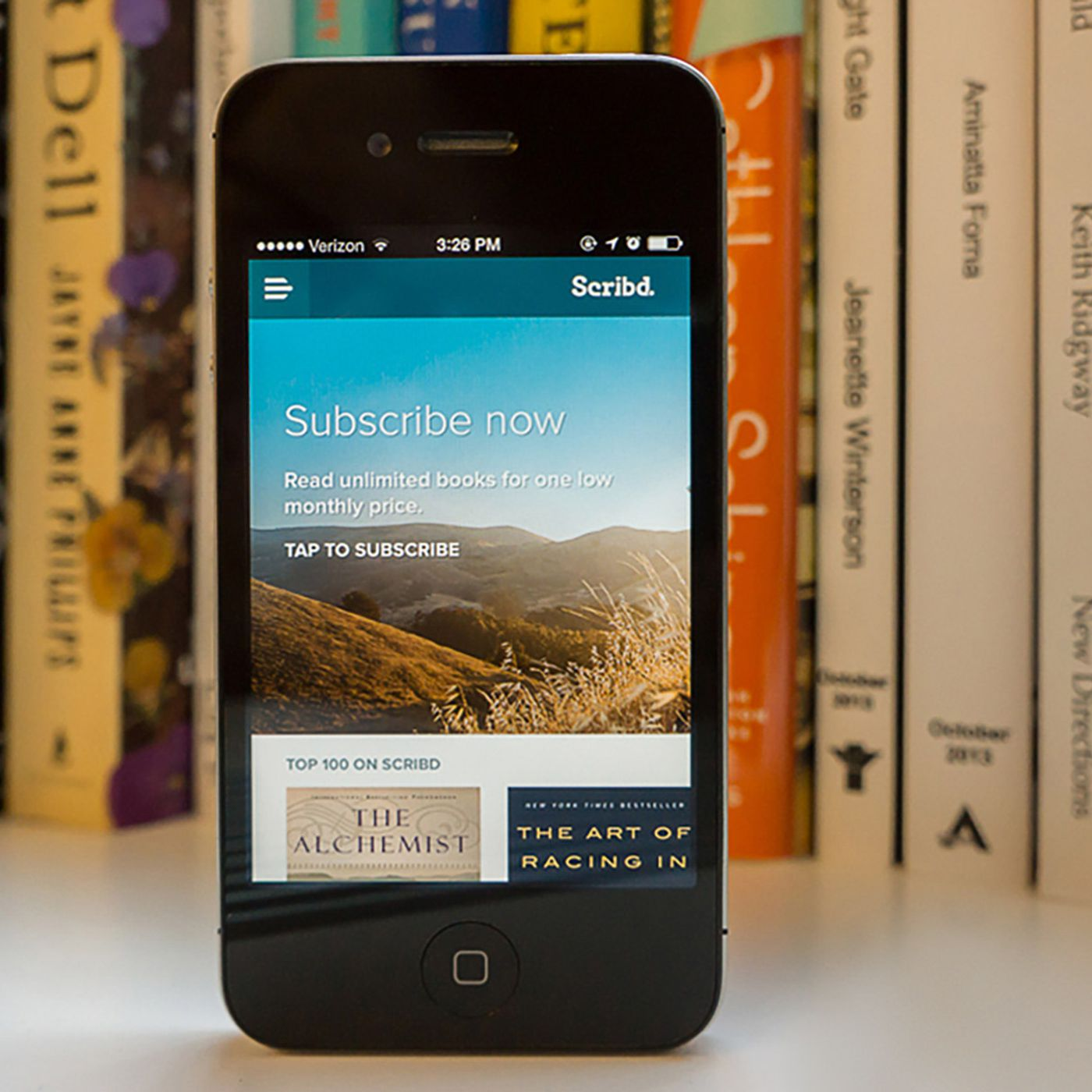Scribd brings back its unlimited ebooks and audiobooks subscription