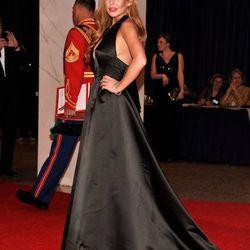 Lindsey Lohan in vintage Galanos