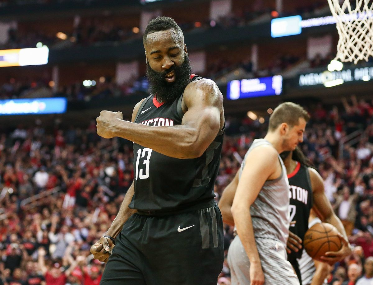 3da7447deded Timberwolves vs. Rockets 2018 results  James Harden scores 44 points ...