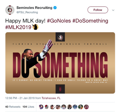 Screen Shot 2019 01 21 at 1.29.44 PM - 4 problematic things about FSU's bizarre, deleted MLK graphic