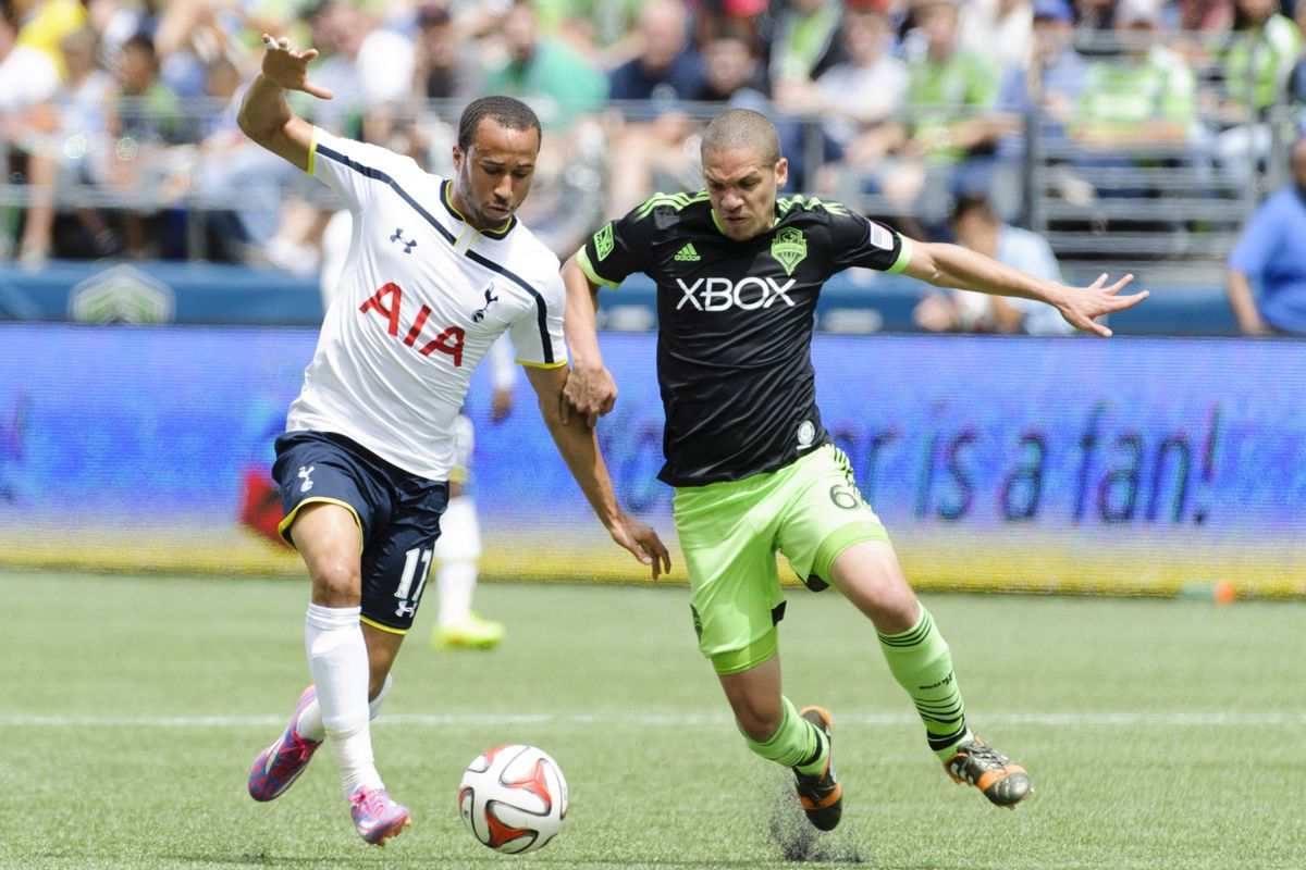 Hey, look! The Sounders played an EPL team last weekend, at home, in front of their fans! What a concept!