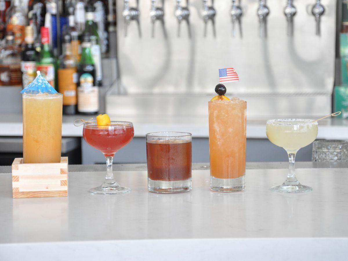 Vox Table's brunch cocktails