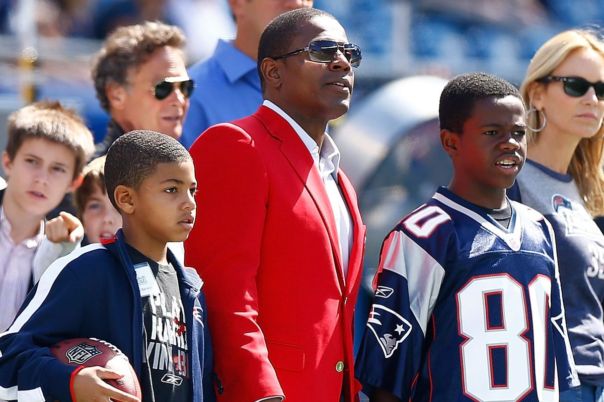 2012 Patriots Hall of Fame inductee Troy Brown