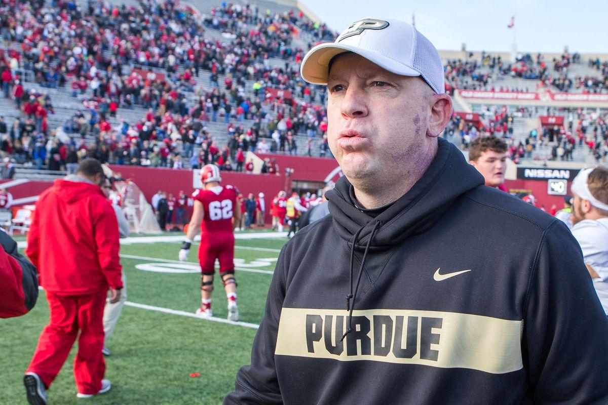 NCAA Football: Purdue at Indiana