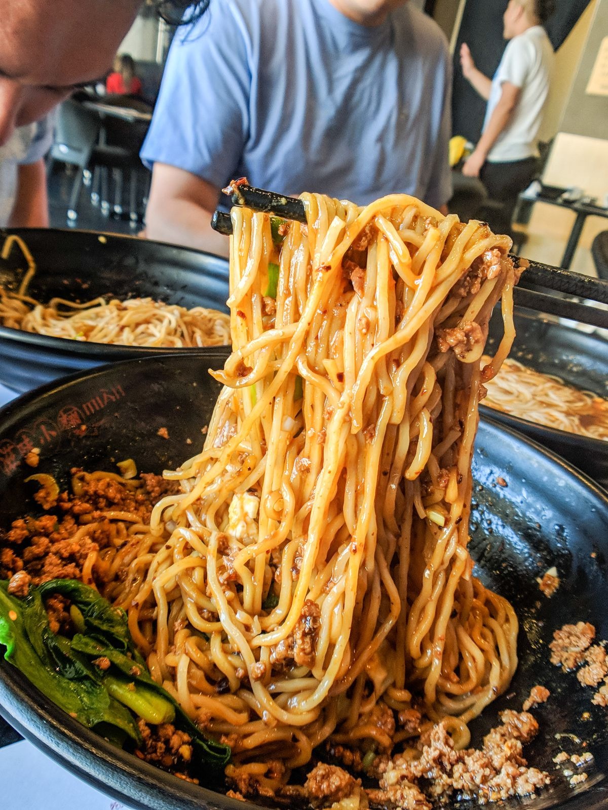 Chengdu zajiang noodles at Mian
